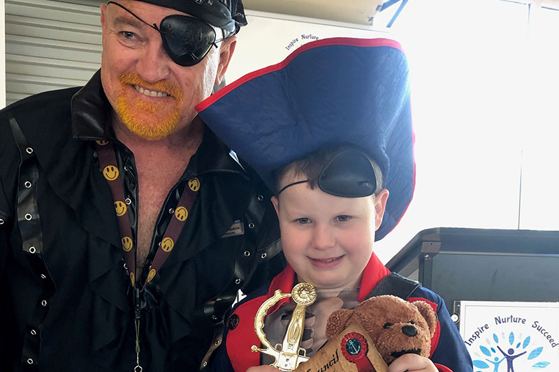Redcliffe Primary School Pirate Day